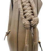 Altuzarra Ghianda Taupe Leather Hobo Bag