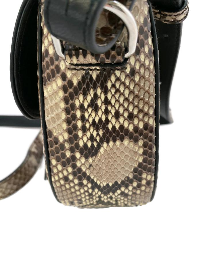 Altuzarra Ghianda Taupe Python Skin Leather Cross Body Bag
