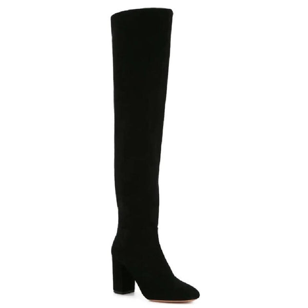 Aquazzura Black London Boots