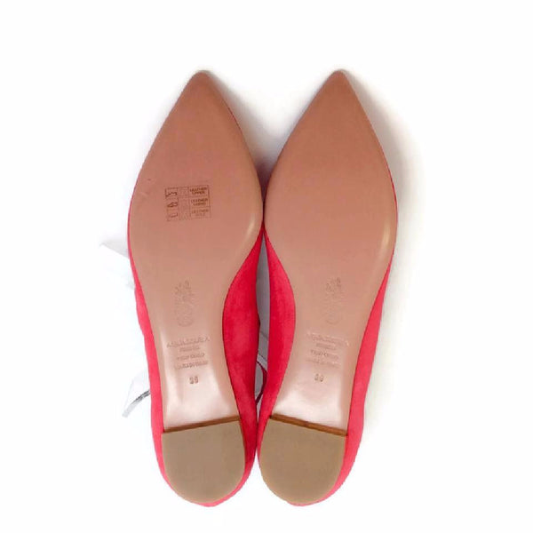 Christy Sorbet FLats by Aquazzura 39