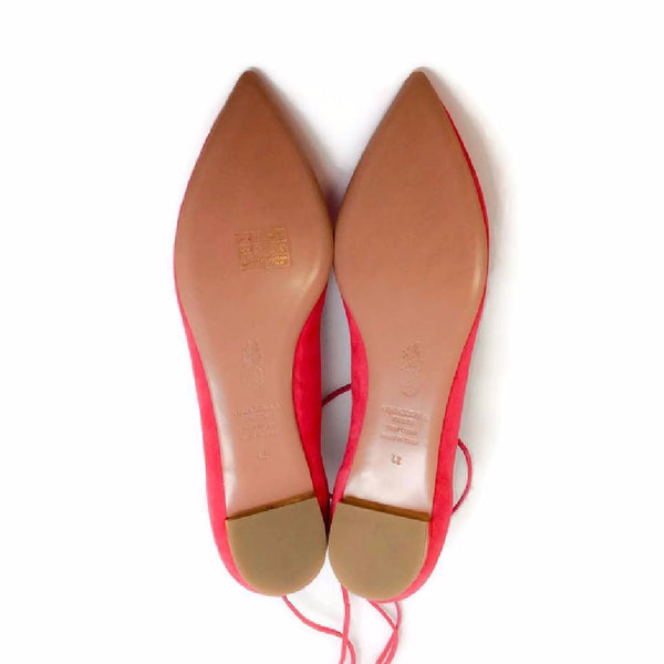 Christy Sorbet FLats by Aquazzura 42