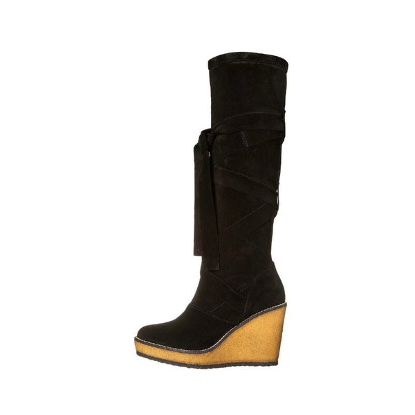Avane Suede Wrap Around Boot by Robert Clergerie inside