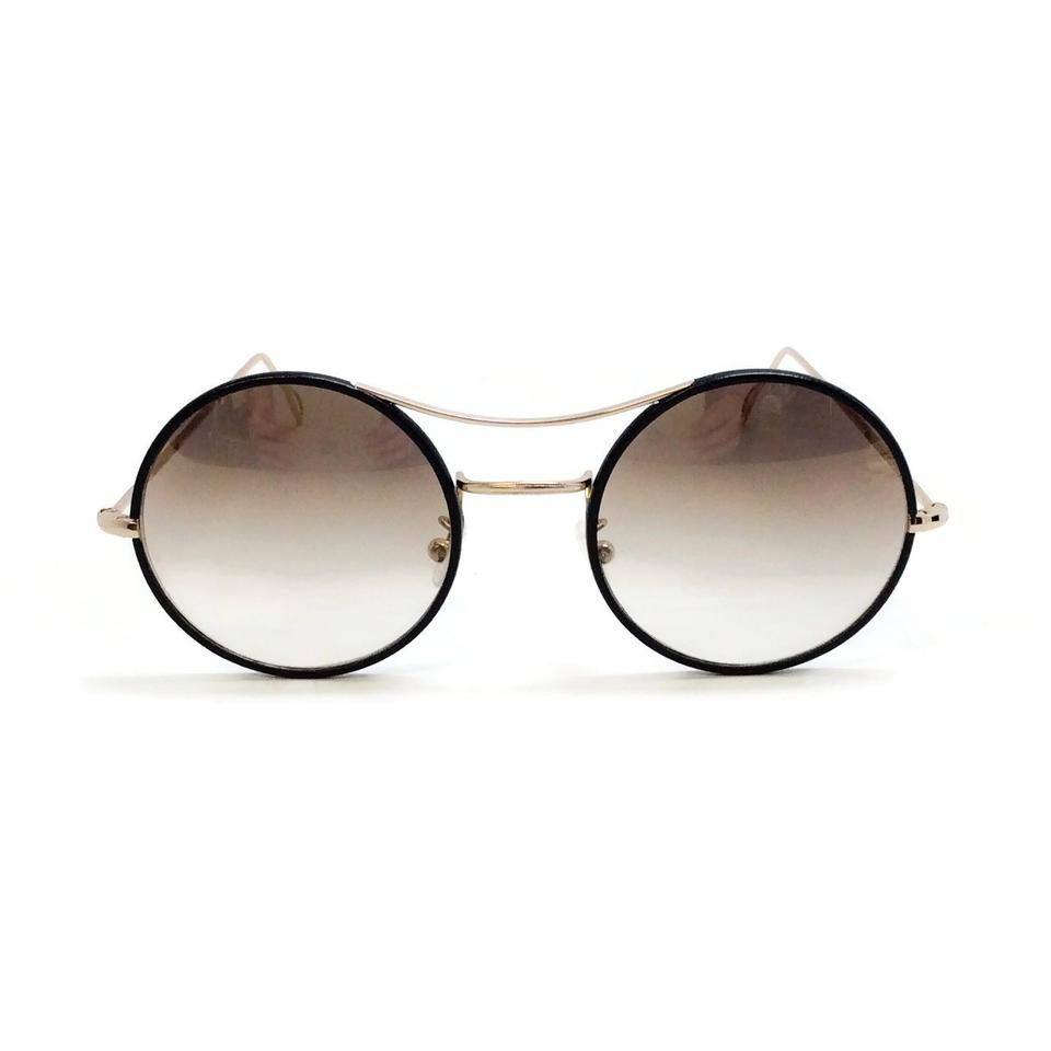 Kyme Black / Gold Ros Plu Col 11 Sunglasses