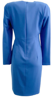 Black Halo Blue Ivana Work/Office Dress