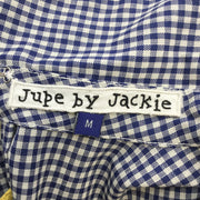 Jupe by Jackie Navy / White Check Dress