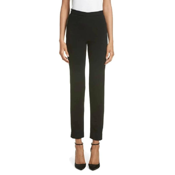Brandon Maxwell Black Cigarette Leg Pants