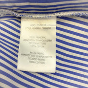 Carven Blue/White Stripe Dress