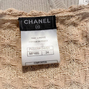 Chanel Beige and Black Tweed Casual Dress