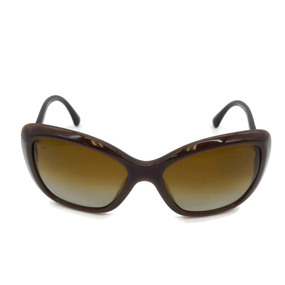 Chanel Brown Pearl Sunglasses