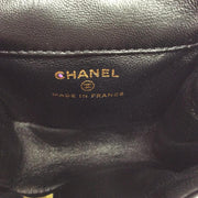 Chanel Black Patent Super Rare Runway Quilted Bag Charm