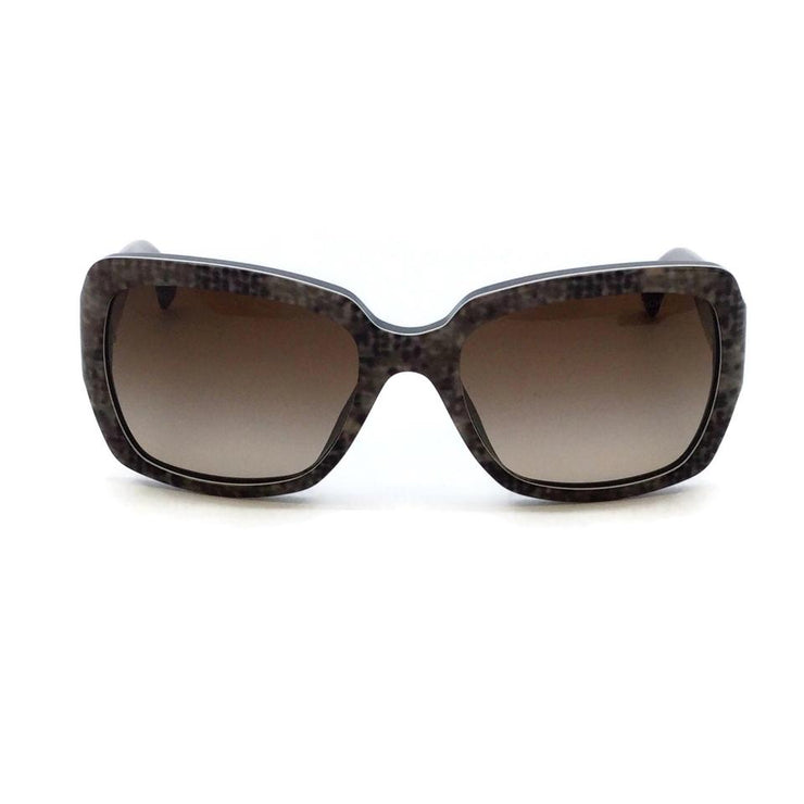 Chanel Grey Tweed Effect Square Frame 5221 Sunglasses