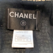 Chanel Navy and White Jacket