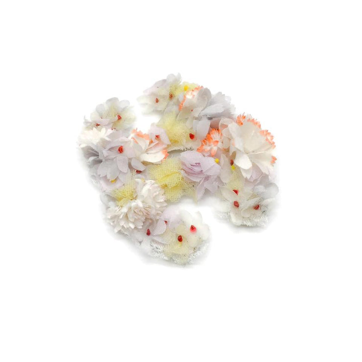 Chanel Pastel Floral Brooch