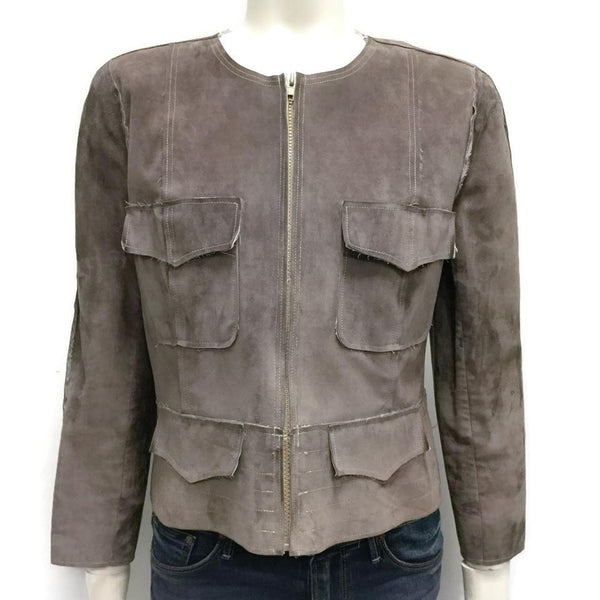 Chanel Taupe Miltary Jacket