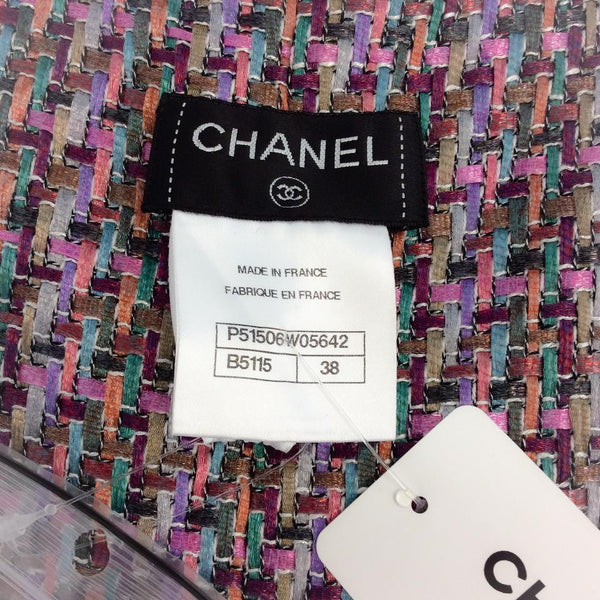 Flower Power Lesage Coat by Chanel