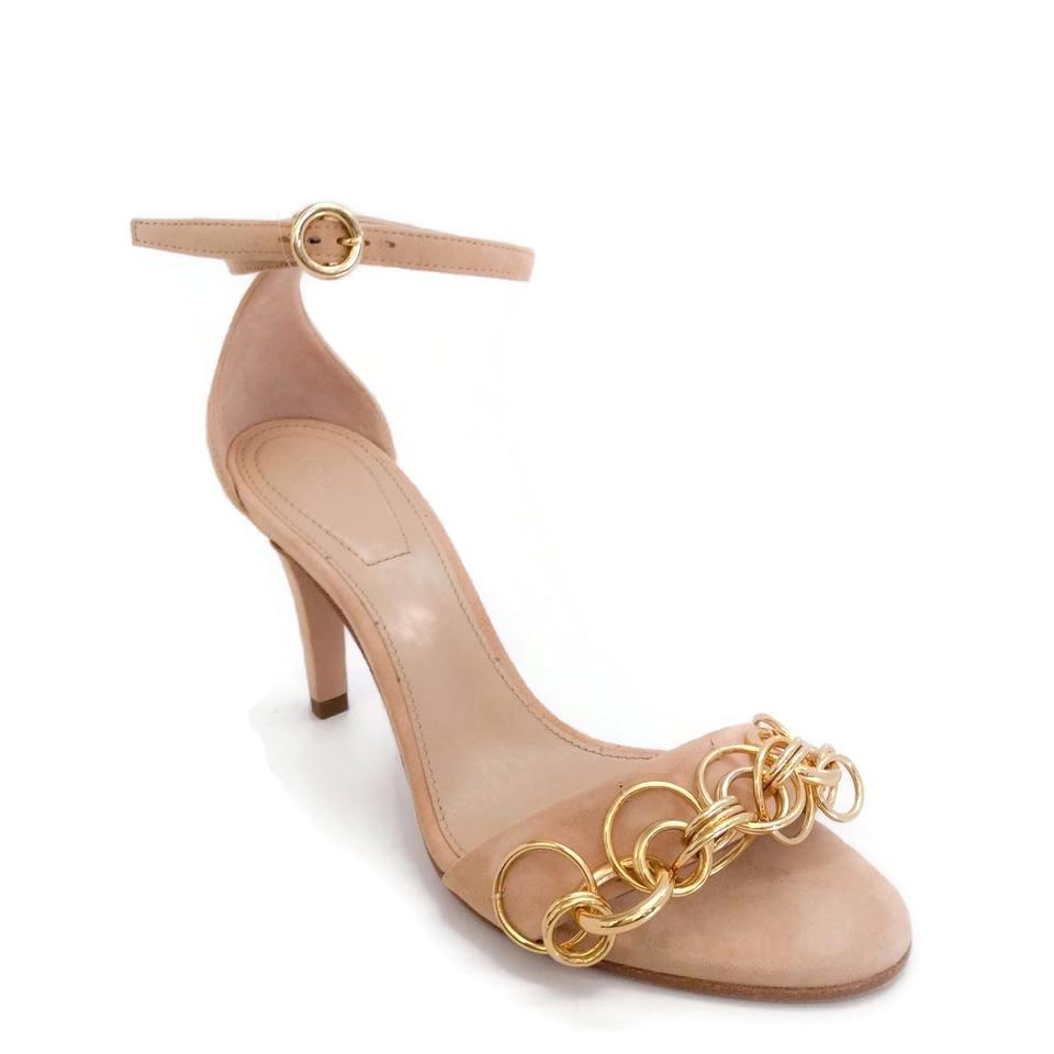 Chloé Nude Ring Top Pumps
