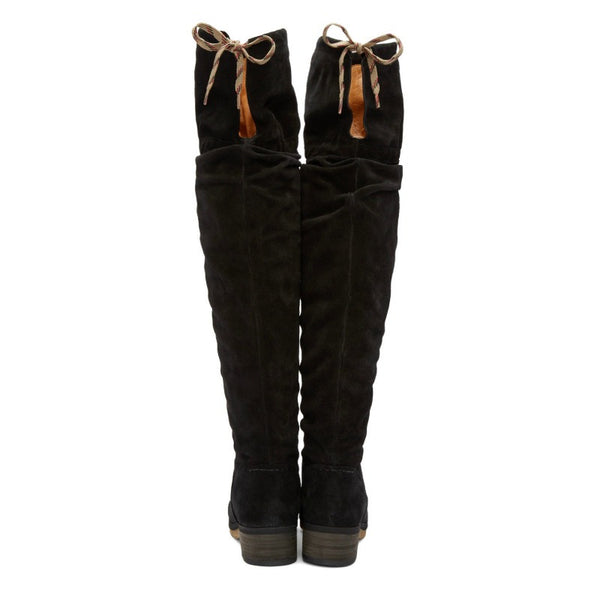 Jona Slouch Black Boots by See by Chloé back