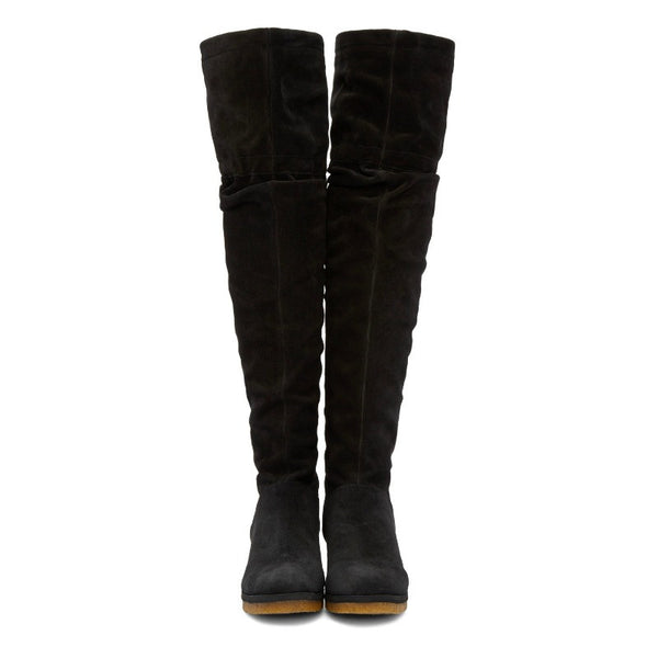 Jona Slouch Black Boots by See by Chloé front
