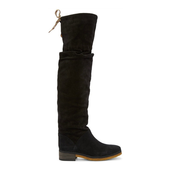 Jona Slouch Black Boots by See by Chloé