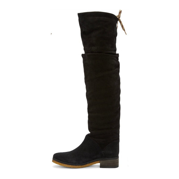 Jona Slouch Black Boots by See by Chloé side