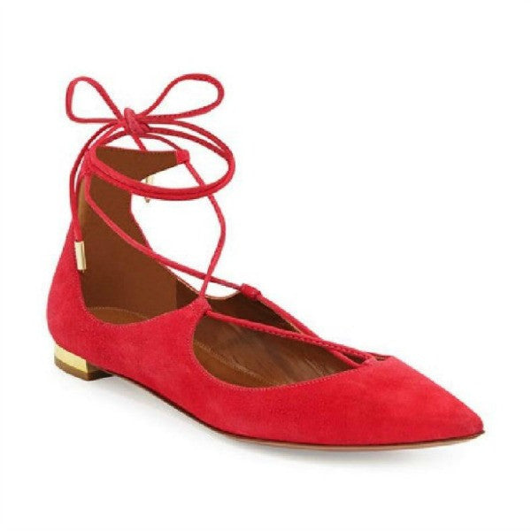 Christy Sorbet FLats by Aquazzura
