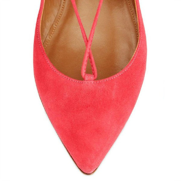Christy Sorbet FLats by Aquazzura toe