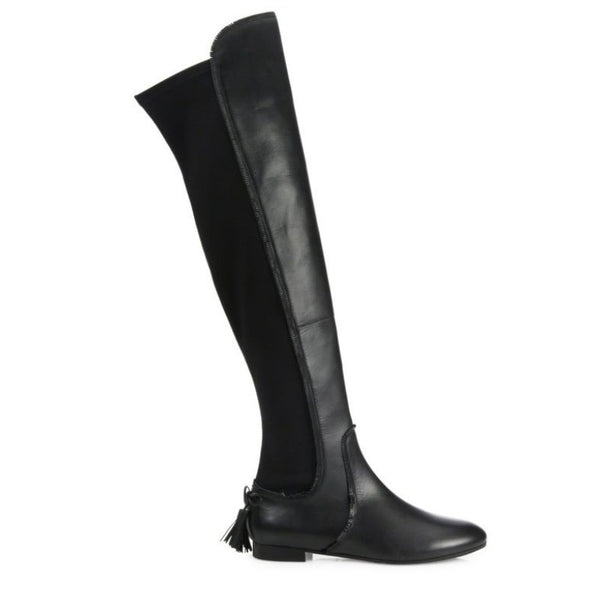 Dasha Black Boots by Aquazzura