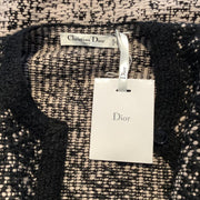 Dior Knit Coat Black / Pink Sweater