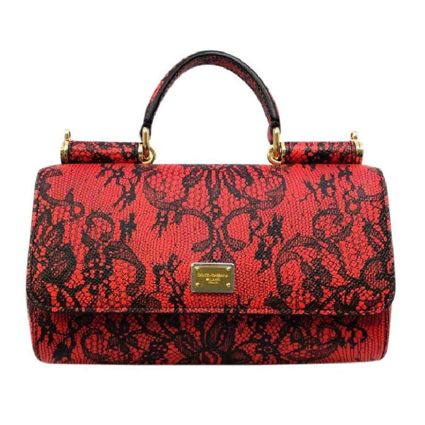 Miss Sicily Micro Dauphine Shoulder Bag by Dolce & Gabbana