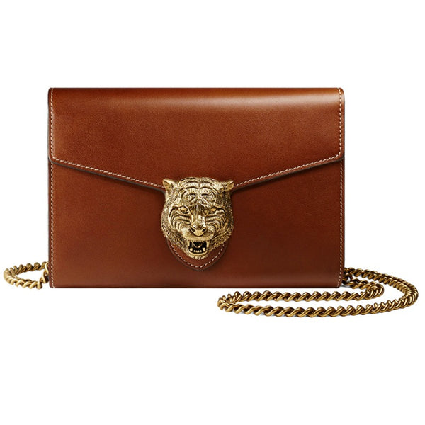 Gucci Animalier Chain Wallet / Cross Body Bag