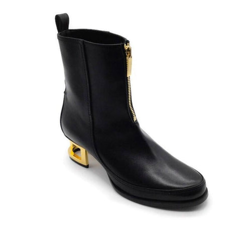 Maiyet Black Leather Boots
