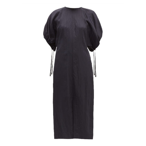 Jil Sander Navy Blue Lennox Dress