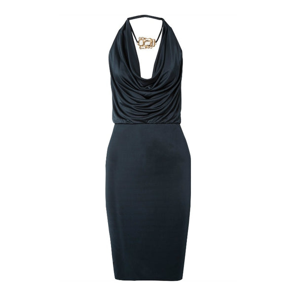 Haney Navy Portia Dress