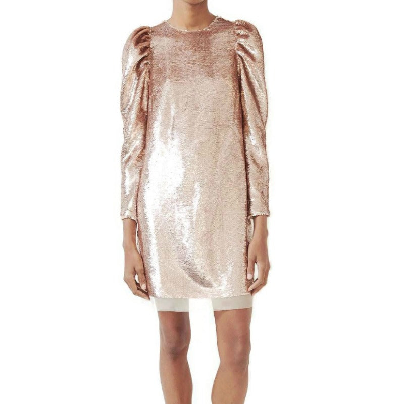 Ulla Johnson Rose Gold Neptune Dress