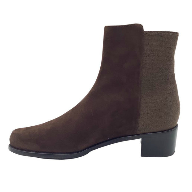 Stuart Weitzman Brown Suede Ankle Boots