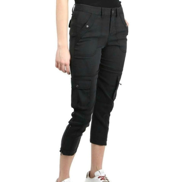 Go Silk Washed Black Go Utility Pants