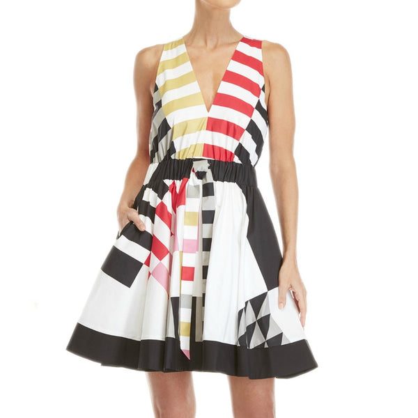 MILLY Multicolor Lola Dress