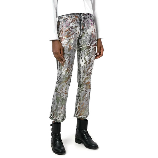 Faith Connexion Multicolor Trump Capri/Cropped Jeans
