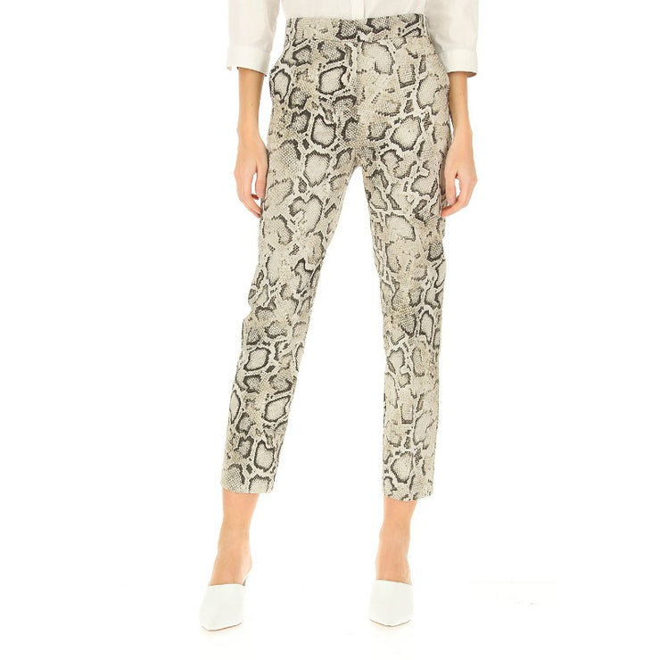 Pinko Multi Snake Teodora Tailored Pants