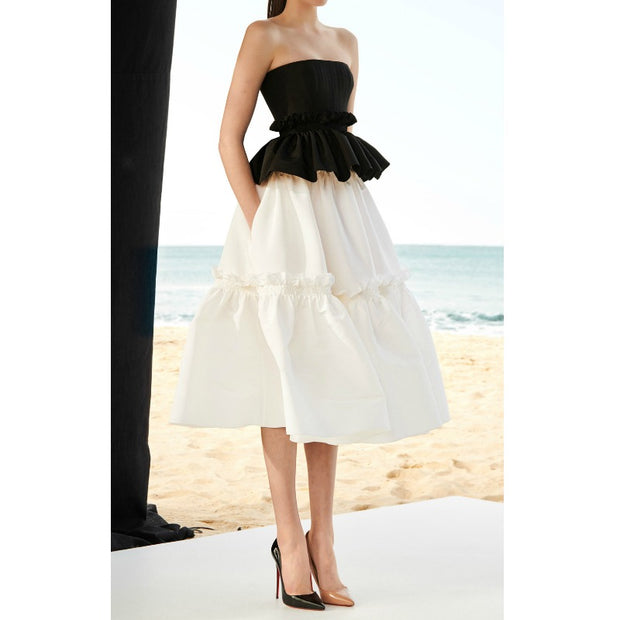Alex Perry Black / White Corinne Dress