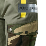 Dolce&Gabbana Multicolor Patched Pants