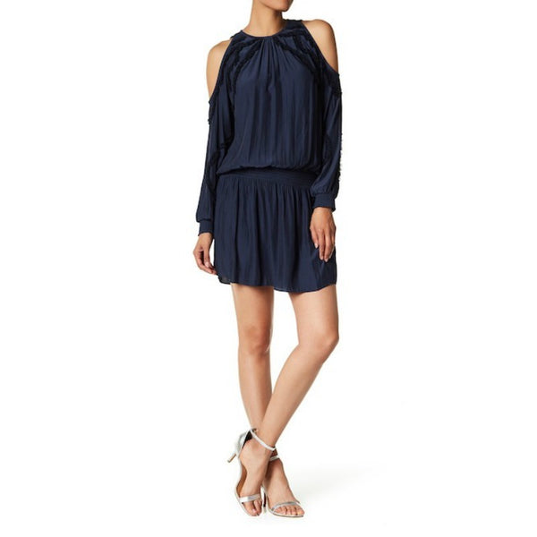 Ramy Brook Navy Taima Dress