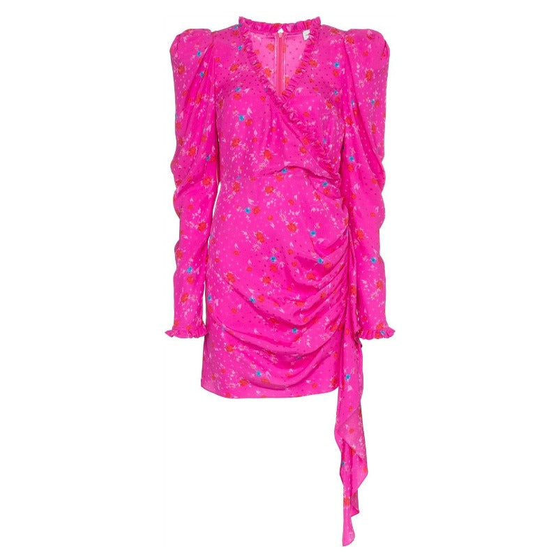 Magda Butrym Pink Carlton Dress