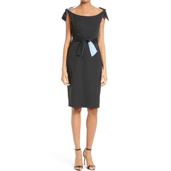 MILLY Black Candice Dress