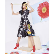 Sachin + Babi Black / Multi Cicely Dress
