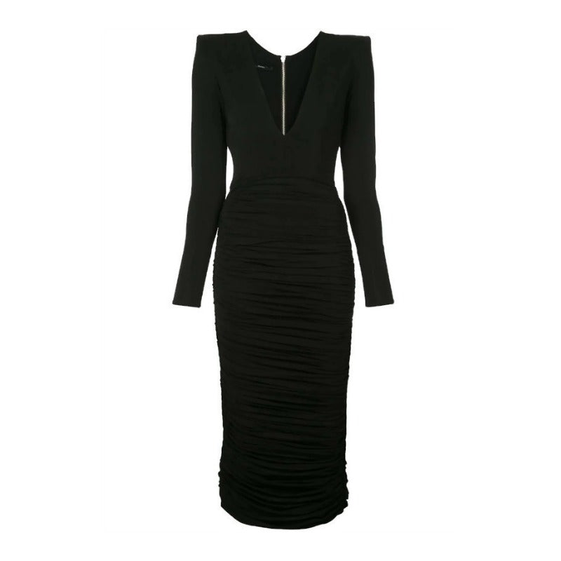 Alex Perry Black Clove Cocktail Dress