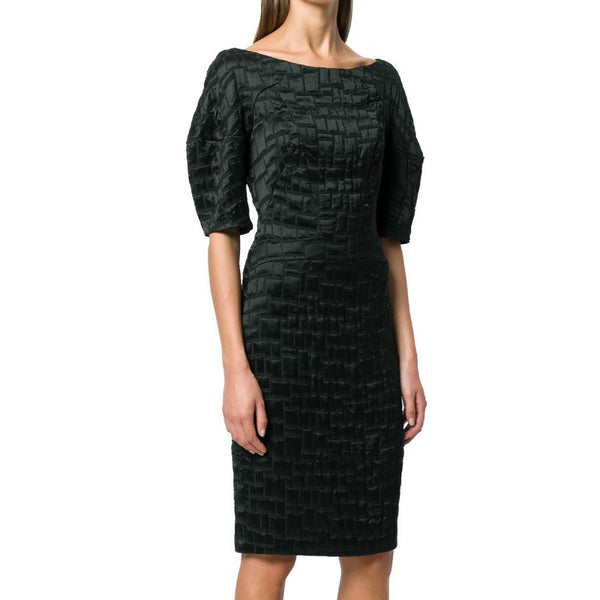 Talbot Runhof Black Poise1 Dress