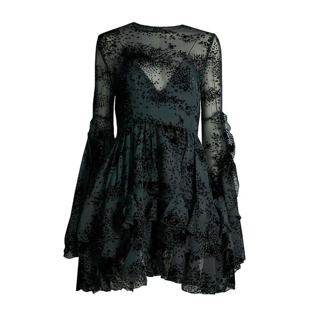 Alex Perry Black Buckley Night Out Dress