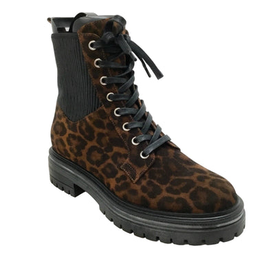 Gianvito Rossi Leopard Martis Stretch Boots/Booties