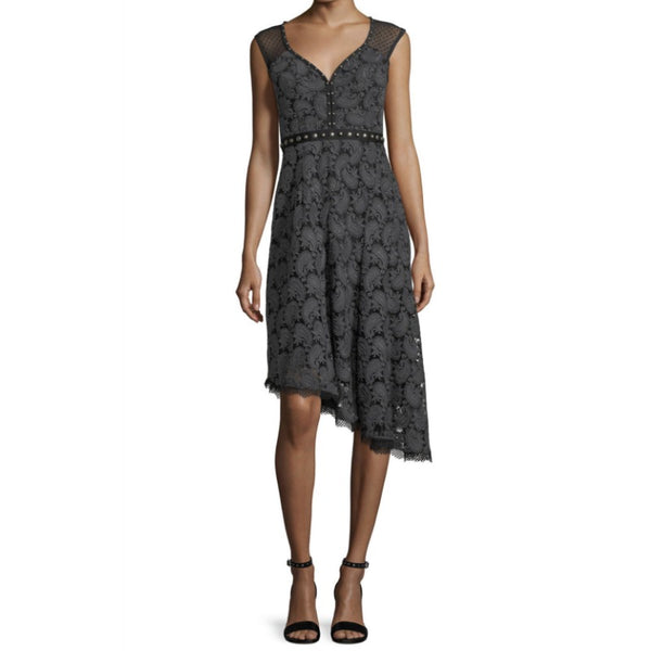 Nanette Lepore Charcoal Beatrice Dress